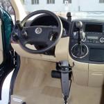 VW - Lenkung-Bremse-Gas-Wählhebel mit Tetrabedienung